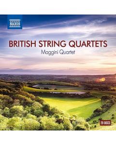British String Quartets (Maggini Quartet) (20CD-BOX)