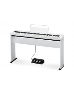 Casio Privia PX-S1000 (Hvid) - SAMPAK inkl. stativ, pedal og klaverbænk