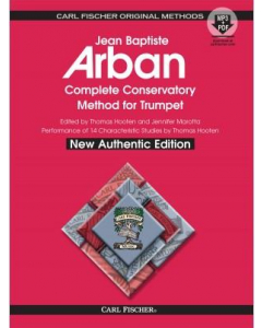 Arban's Complete Conservatory Method for Trumpet (incl. CD) - New Authentic Edition