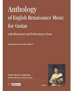 Anthology of English Renaissance Music for Guitar