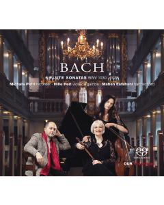 Bach: 6 Sonatas for recorder (Michala Petri, Mahan Esfahani, Hille Perl) (CD)