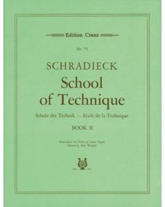 Schradieck, Henry: School of Viola Technique (Vol. 2: Exercises in double stopping)