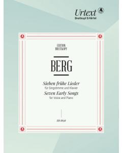 Berg, Alban: Sieben frühe Lieder / Seven Early Songs (Voice, Piano)