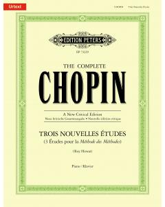 Chopin: Trois Nouvelles Études (Piano)