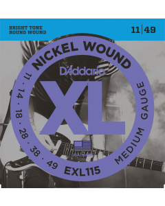 D'addario EXL115 - Guitarstrenge til El-Guitar (sæt)