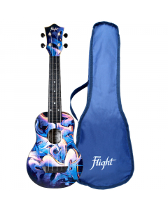 Flight Travel Soprano Ukulele - TUS40 Graffiti (incl. Bag)