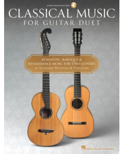 Classical Music for Guitar Duet (incl. Online Audio)