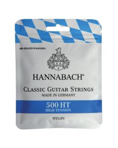 Hannabach Strenge til Klassisk Guitar - 500HT (HighTension)