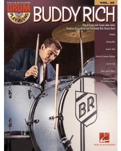 Drum Play-Along Vol. 35: Buddy Rich (incl. Online Audio)