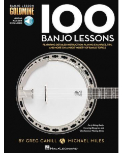 100 Banjo Lessons (incl. Online Audio)