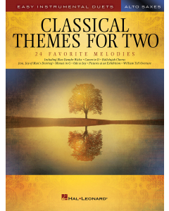 Classical Themes for Two Alto Saxophones