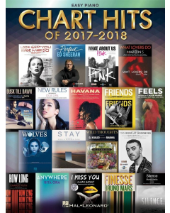 Chart Hits of 2017-2018 (Easy Piano)