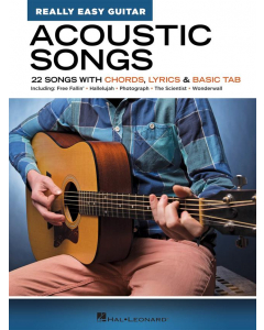 Acoustic Songs (Really Easy Guitar Series)