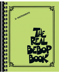 Your new official bebop bible! Over 200 classics arranged for Eb instruments in Real Book style.