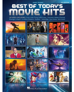 Best of Today's Movie Hits (Easy Piano)