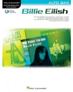 Billie Eilish for Alto Sax - Instrumental Play-Along (incl. Online Audio)