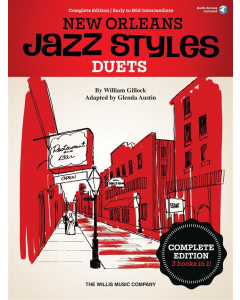 Gillock: New Orleans Jazz Styles Piano Duets (Complete Edition)