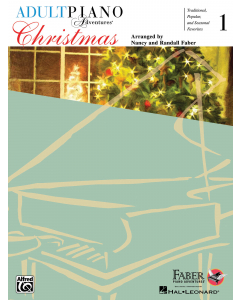 Adult Piano Adventures - Christmas, Book 1