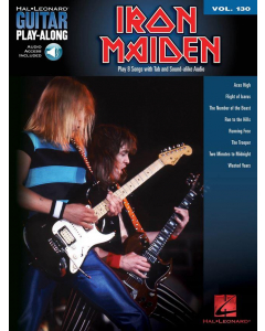 Guitar Play-Along Volume 130: Iron Maiden (incl. Online Audio)