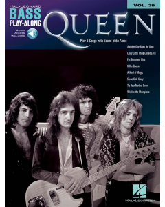 Bass Play-Along Volume 39: Queen