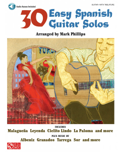 30 Easy Spanish Guitar Solos (incl. Online Audio)