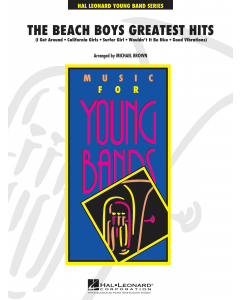 The Beach Boys Greatest Hits - arr. Michael Brown for Concert Band (Score and Parts)