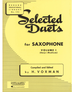 Selected Duets for Saxophone - Vol. 1 (Easy-Medium)
