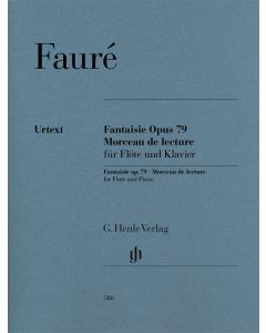 Fauré: Fantaisie op. 79 and Morceau de lecture (Flute and Piano)