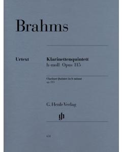 Brahms: Klarinettenquintett h-moll / Clarinet Quintet b minor, op. 115 (Set of Parts)