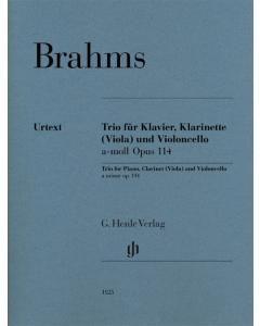 Brahms, Johannes: Clarinet Trio a minor op. 114 (Piano, Clarinet (Viola), Violoncello)