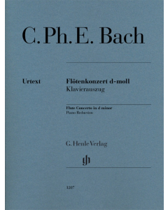 Bach, C. Ph. E.: Flötenkonzert d-moll / Flute Concerto in d minor