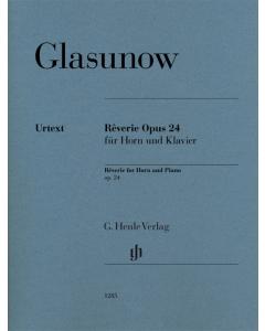 Glazunov, Alexander: Rêverie, op. 24 (Horn, Piano)