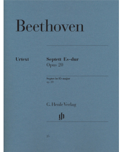 Beethoven: Septett Es-dur / Septet in E flat major, op. 20 (Set of Parts)