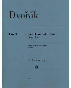 Dvorak: String Quartet in G major, op. 106 (Set of Parts)