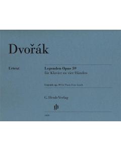 Dvorák: Legenden / Legends, op. 59 (Piano Four-hands)