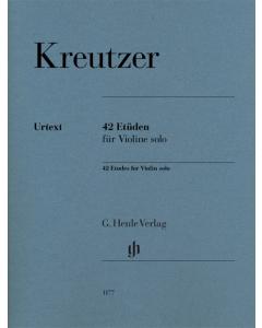 Kreutzer: 42 Etüden für Violine solo