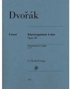 Dvorák: Klavierquintett A-dur / Piano Quintet A major, op. 81 (Set of Parts)