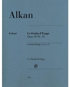 Alkan, Charles-Valentin: Le Festin d'Ésope, op. 39 Nr. 12 (Piano)