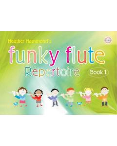 Funky Flute Repertoire - Book 1 Student (incl. CD)