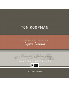 Buxtehude Opera Omnia - Buxtehude Collector's Box (Ton Koopman, Amsterdam Baroque Orchestra) (30CD+1DVD)