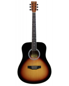 Santana LA90 Western guitar - Sunburst