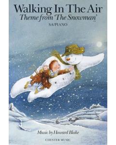Blake, Howard: Walking in the Air - Theme from The Snowman (SA, Piano)