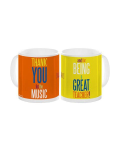 Thank You For The Music, and for being a Great Teacher! - Coffee Mug