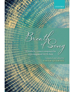 Breath of Song - 10 concert works by women composers (SATB a cappella)