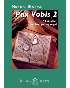 Pax Vobis 2 - 24 stykker for trompet og orgel