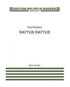 Ruders, Poul: Rattus Rattus (Solo Guitar)