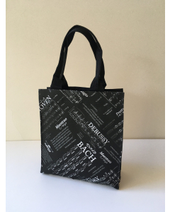 Mini City Bag - Composers (Black)