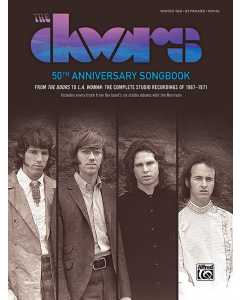 The Doors: 50th Anniversary Songbook (Guitar Tab, Keyboard, Vocal)