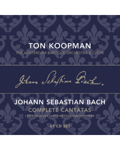 Bach Complete Cantatas (Ton Koopman; The Amsterdam Baroque Orchestra and Choir) (67CD-BOX)