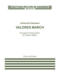 Hanssen, Johannes: Valdres March - arr. for Brass Band (Score and Set of Parts)